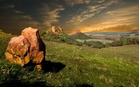 Фотографии небо, долина, камни