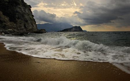 Фотографии море, волны, пляж