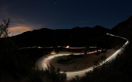 Обои Mulholland Canyon, Malibu California, USA