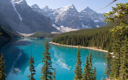 Обои пейзажи, фото, красивые обои, озеро