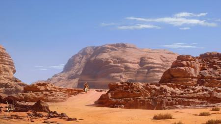 Фото full hd 1920x1080, скалы, пустыня, пустыни