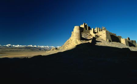 Заставки пустыня, горы, холмы, замок