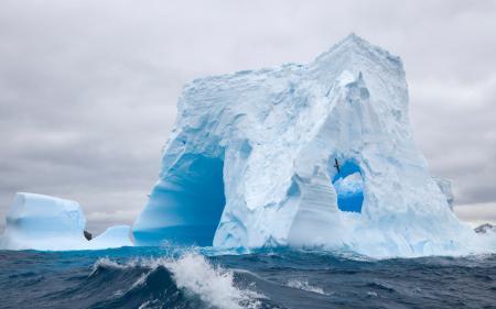 Картинки айсберг, лёд, снег, зима
