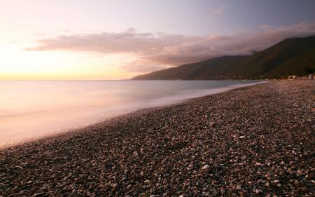 Заставки побережье, пляжи, галька, камни