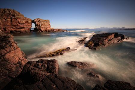 Фото природа, море, скалы, волны