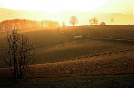 Фото заря, утро, природа, пейзаж