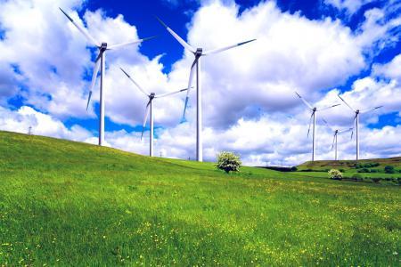 Фотографии Wind land, пейзаж, зелёная, трава
