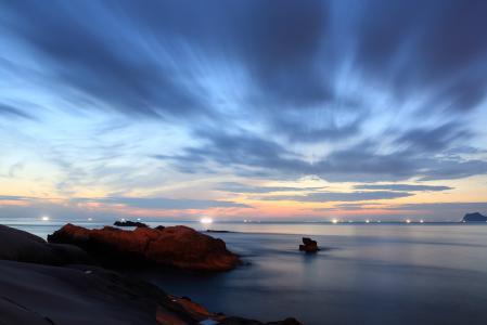 Фотографии море, небо, закат