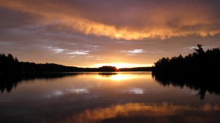 Фотографии Пейзаж, природа, озеро, вечер
