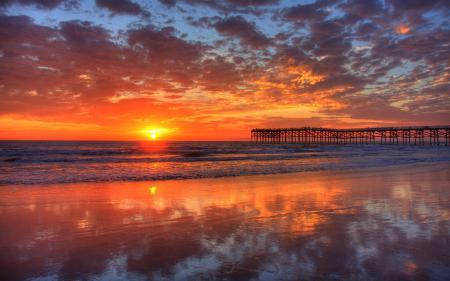 Картинки природа, пейзаж, небо, море