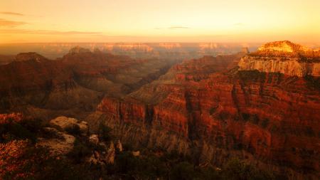 Фото каньон, горы, рассвет, высота