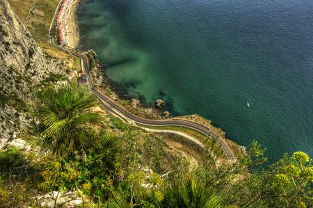 Фотографии Gibraltar, Гибралтар, море, дорога