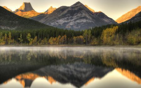 Обои Kananaskis, Alberta, US, озеро