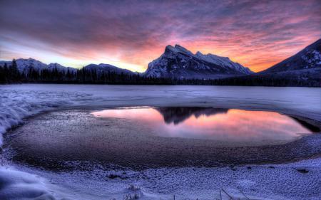 Фотографии закат, горы, пейзаж