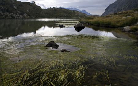 Заставки река, горы, пейзаж