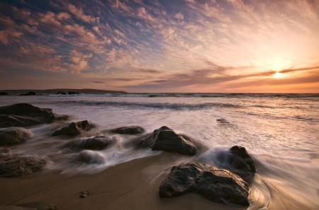 Фотографии море, океан, небо, волны