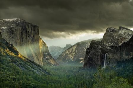 Фотографии горы, лес, облака, серые