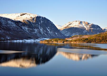 Фотографии озеро, горы, отражение