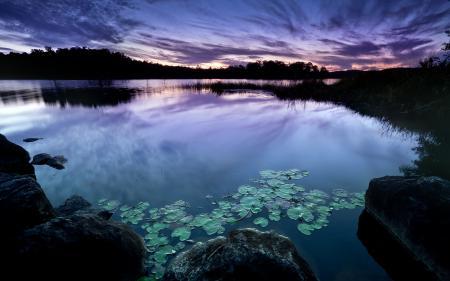 Фотографии пейзаж, природа, сумерки, небо