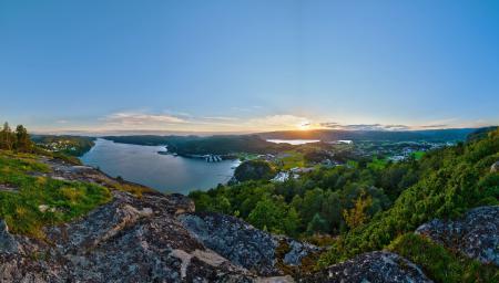 Фотографии пейзаж, природа, закат, леса