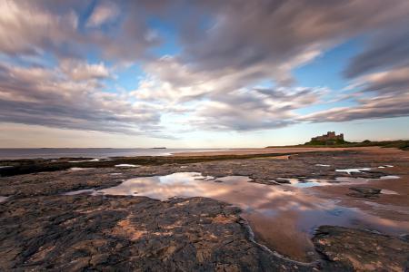 Заставки море, берег, скалы, пейзаж