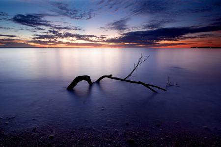 Фотографии море, ночь, пейзаж