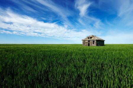 Картинки поле, дом, пейзаж