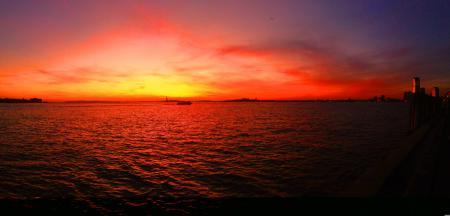 Фотографии солнце, небо, закат, облака