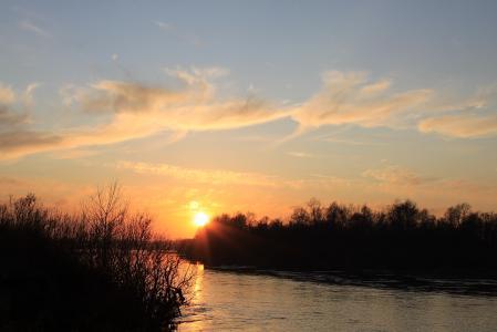 Фотографии рассвет, закат, небо, солнце