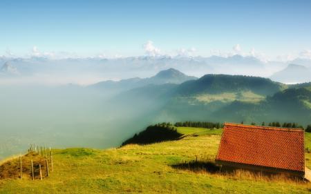 Фото Switzerland, Canton of Schwyz, Kulm, дом