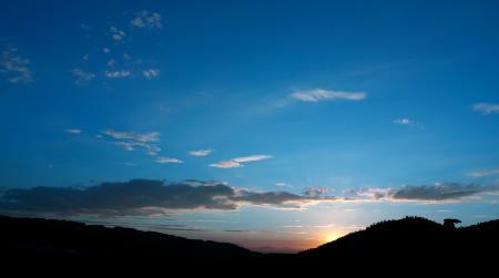 Фото Земля, Солнце, закат, небо