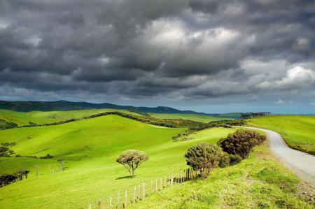 Фото Valley, thundercloud, пейзаж, долина
