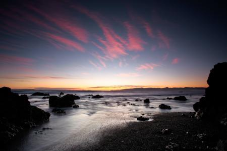 Обои пейзажи, landscape, море, песок
