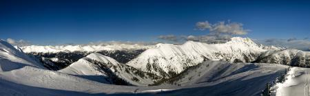Заставки Альпы, горы, снег, склоны