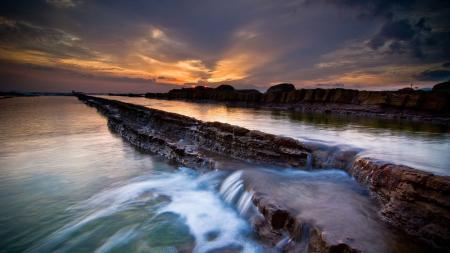 Фотографии вода, закат, красивые места, море