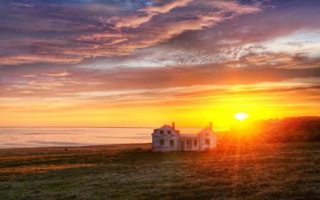 Фото Exploring the Peninsula at Sunrise, north atlantic, восход