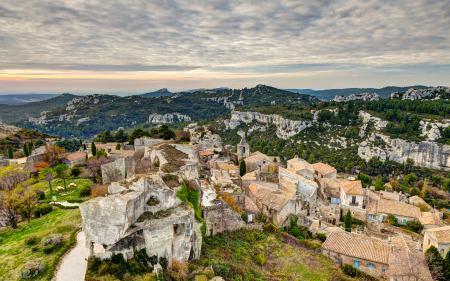 Заставки France, горы, деревня