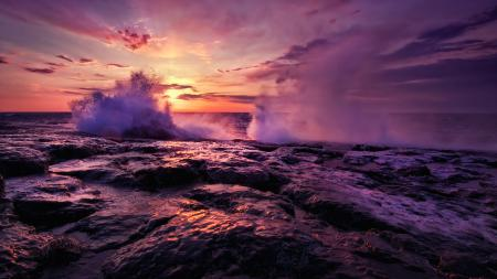 Фотографии Море, океан, вода, волны