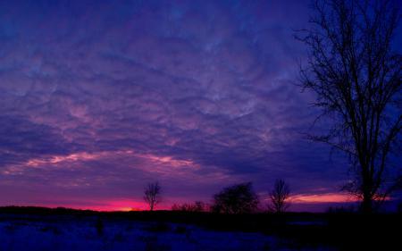 Заставки Природа, небо, облака, вечер