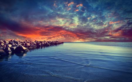 Заставки Baltic Sea, балтийское море, море, камни