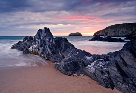 Заставки море, небо, скалы, скала