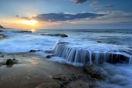 Фотографии закат, море, пейзаж