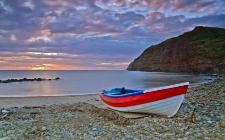 Фото море, лодка, пейзаж