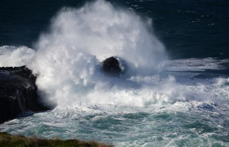 Заставки берег, скалы, море, волны