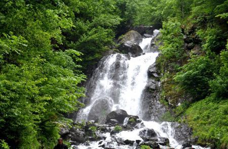 Фото водопад, молочный, абхазия, лето