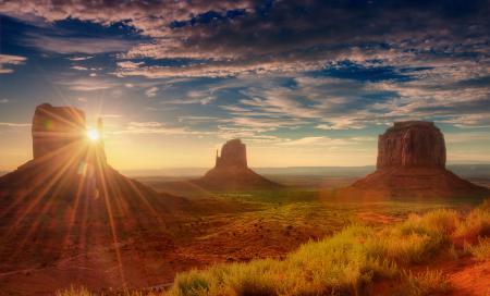 Картинки Америка, Юта, долина монументов, пустыня