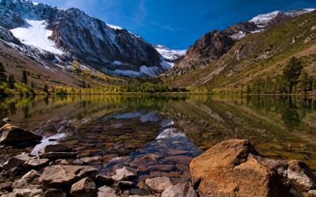 Заставки Природа, пейзаж, горы, озеро