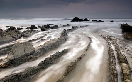 Фото море, скалы, пейзаж