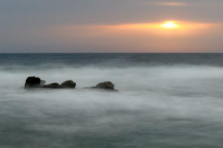 Фотографии море, серое, пасмурно, вода