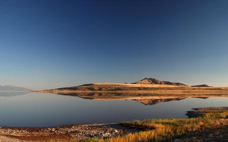 Обои Природа, пейзаж, озеро, берег